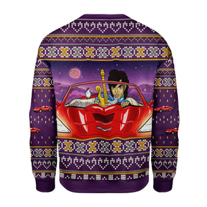 Prince Little Red Corvette Sweater G176