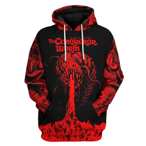 The Conqueror Worm Hoodie / S Qr1240