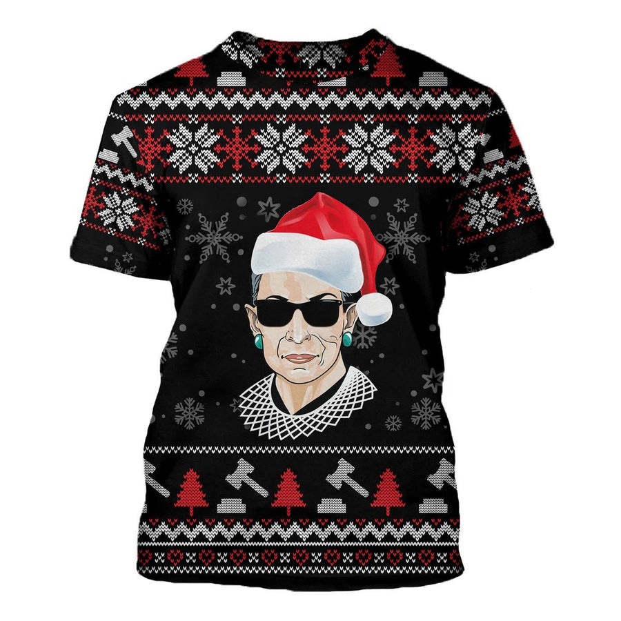 Rbg Ugly Sweater T-Shirt / S Kd196