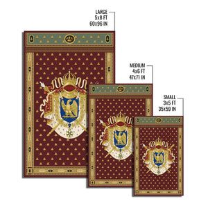 Napoleon Coat Of Arms Rug Qm1255