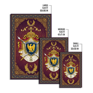Coat Of Arms Second French Empire Rug Qm1271