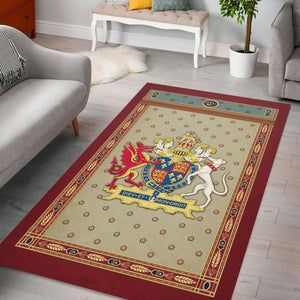 Henry Viii Of England Rug / Small (3 X 5 Feet 35 59 Inches) Qm1250