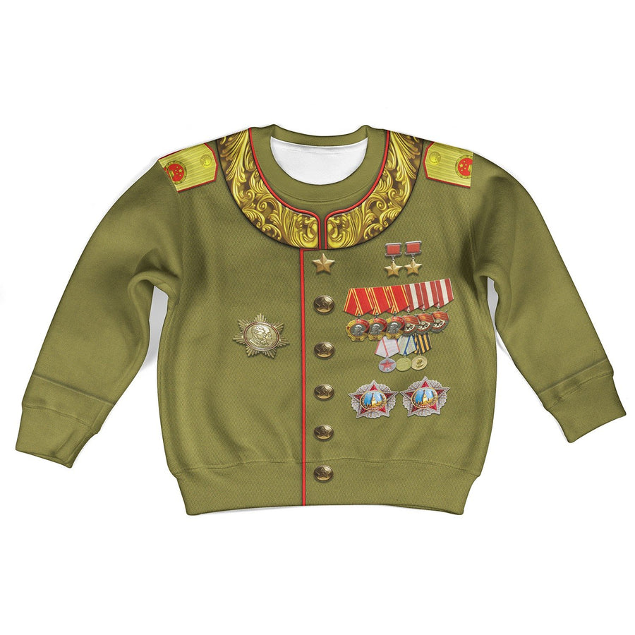Kqm605 Joseph Stalin Russia Kid Long Sleeves / Toddler 2T