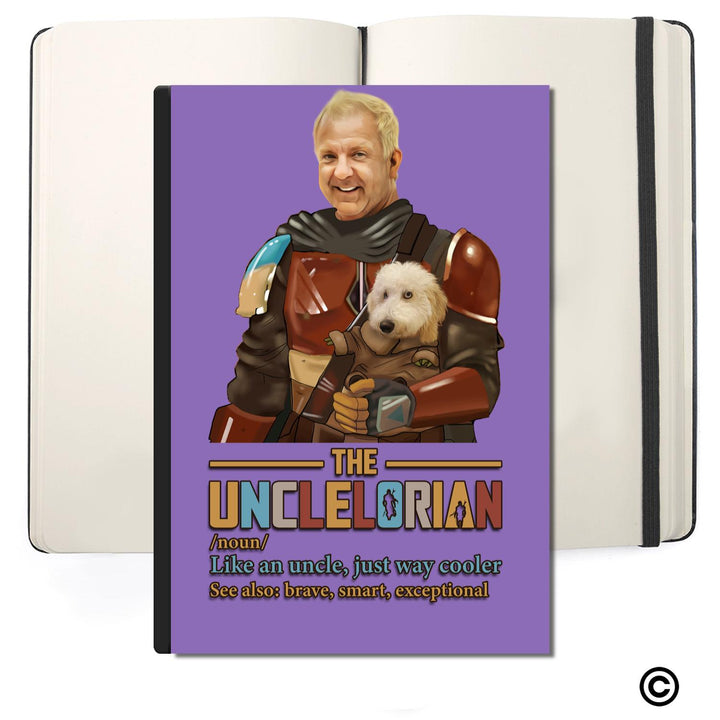 Personalized Photos Soft Cover Journals-ST-CS-BH16 Customized THE UNCLELORIAN