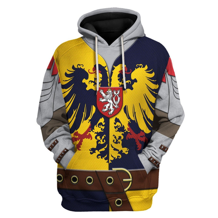 Knight Of The Holy Roman Hoodie / S Qm717