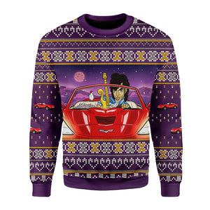 Prince Little Red Corvette Sweater Ugly / S G176
