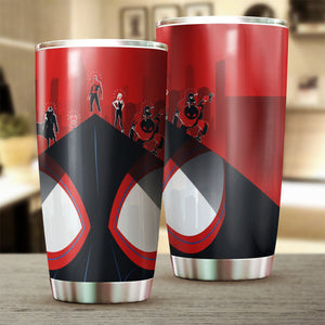 Into The Spider Verse Tumbler / M-20Oz Qm4005