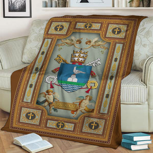 Pope Pius Xii Coat Of Arms Blanklet Blanket / S (4 X 5 Feet - 51 59 Inches) Qm1399
