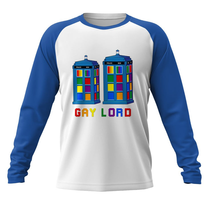 Gay Lord Christmas Long Sleeve Raglan
