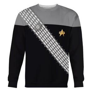 Dsn Worf Gray Uniform Hp181 Long Sleeves / S