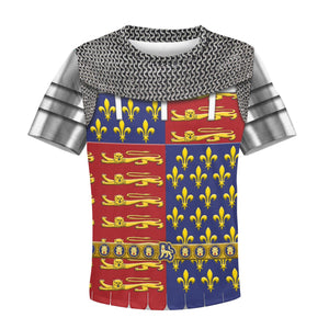 Edward The Black Prince Armor Kid T-Shirt / Toddler 2T Khp296