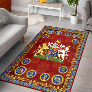 Henry V Rug / Large (5 X 8 Feet 59 94.5 Inches) Qm1248