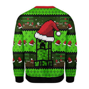 Minecraft Ugly Christmas Sweater Qm1727