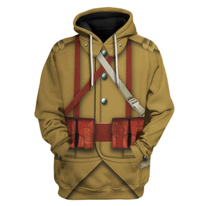 Ww2 French Empire Soldiers Hoodie / S Vn200