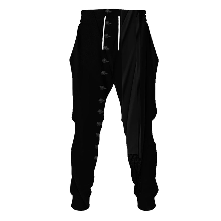 Clergy Black Suit Sweatpants / S Vn524