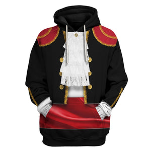 Spaniards In National Costume Hoodie / S Vn409