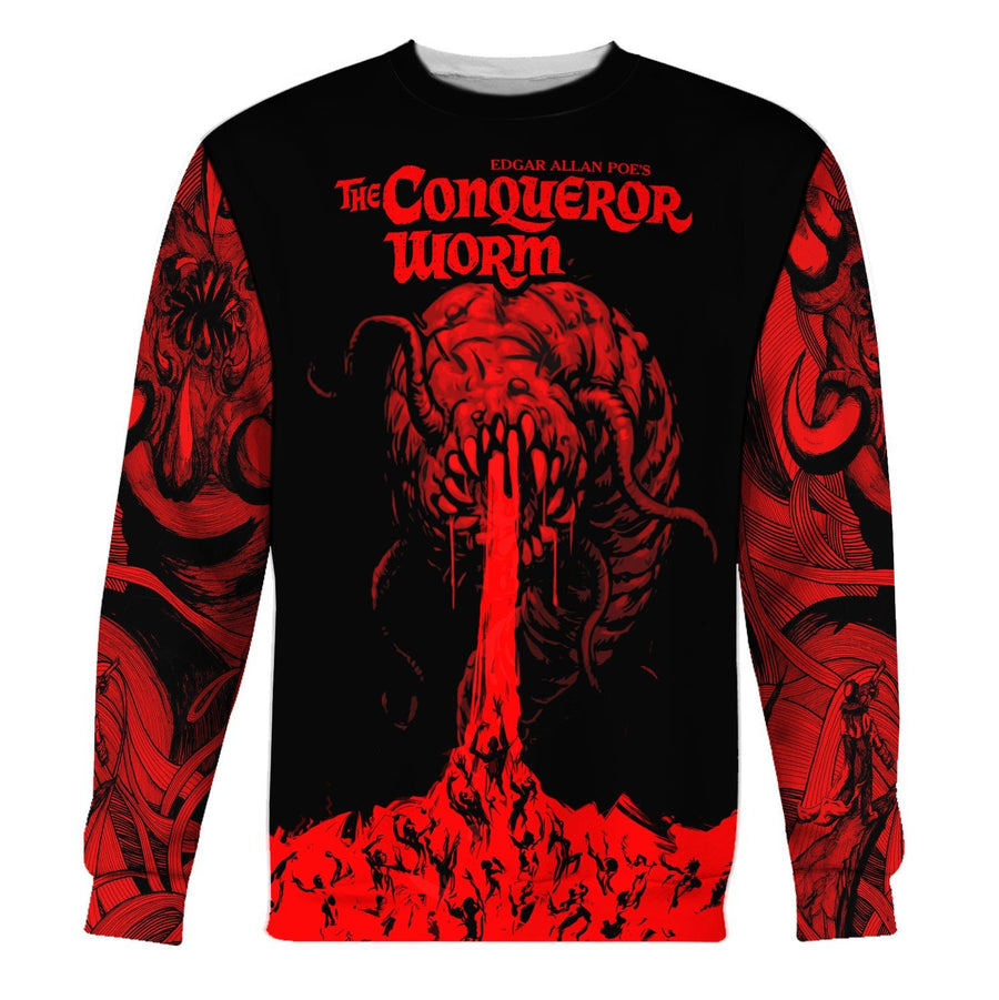 The Conqueror Worm Long Sleeves / S Qr1240
