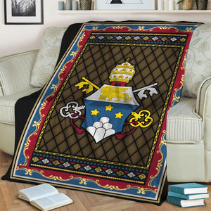 John Paul I Coat Of Arms Blanket / S (4 X 5 Feet - 51 59 Inches) Qm1365