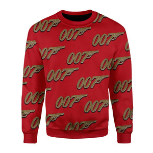 007 Ugly Christmas Sweater / S Kd405