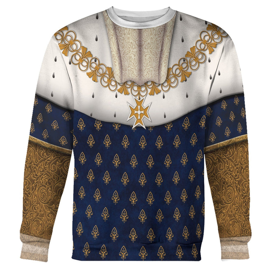 Louis Xiv Of France Long Sleeves / S Qm565
