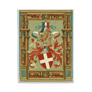 Kingdom Of Italy Fleece Blanket Qm1269