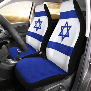 Judaism Flag Car Seat Covers Holy / Universal Fit Qm708