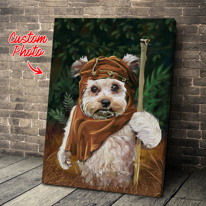 Customized Photos Canvas Wall Art Ewok