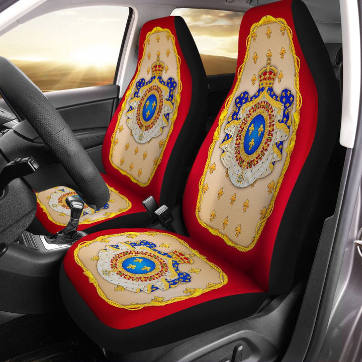 French Coat Of Arms Car Seat Covers Qm712