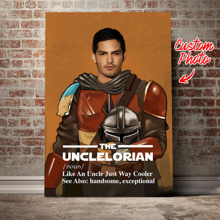 Customized Photos Canvas The Unclelorian Just Like An Uncle
