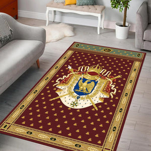 Napoleon Coat Of Arms Rug / Small (3 X 5 Feet 35 59 Inches) Qm824