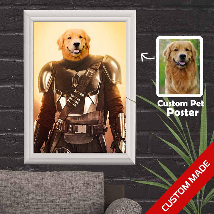 Pet Poster The Mandalorian Wall Decor