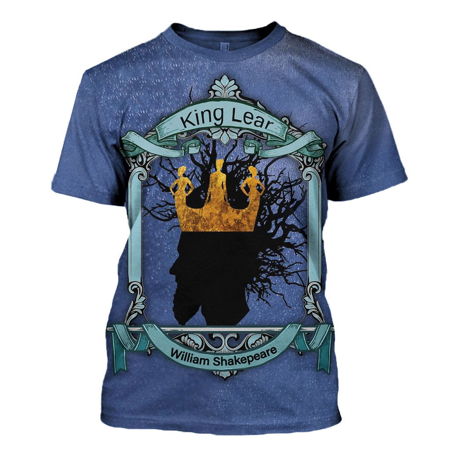 King Lear - William Shakepeare T-Shirt / S Vn632