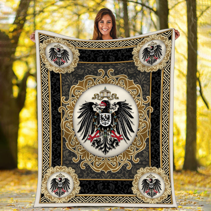 German Coat Of Arms Blanket / S (51 X 59 Inches - 4 5 Feet ) Qm1544
