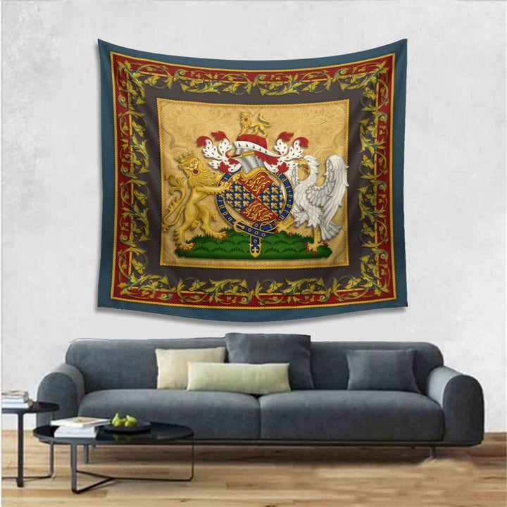 Edward Iii Of England Tapestry - 4 Holes / S (27.6 X 39.4 Inches 2.3 3.2 Feet) Qm1339