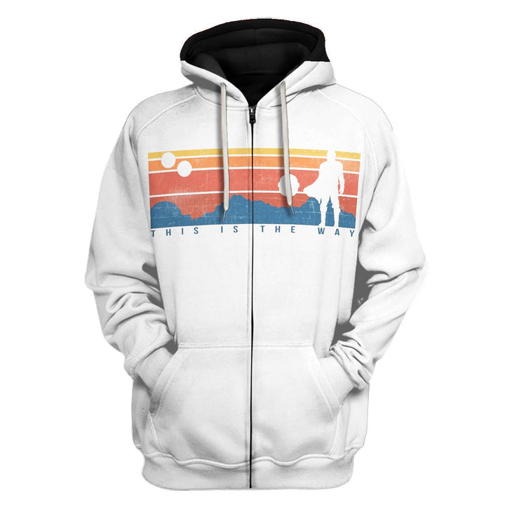 This Is The Way Fleece Zip Hoodie