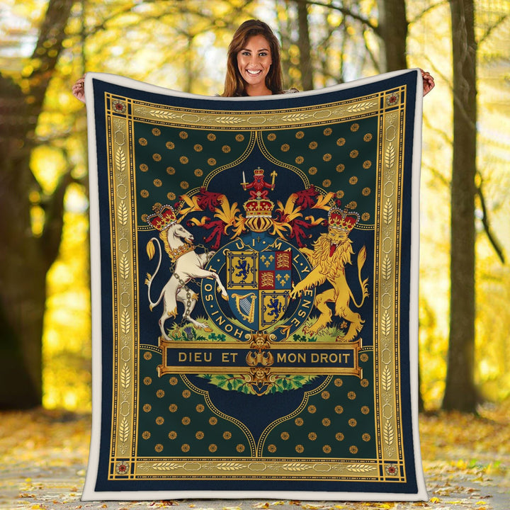 Stuart Coat Of Arms Blanket / S (51 X 59 Inches - 4 5 Feet ) Qm1527