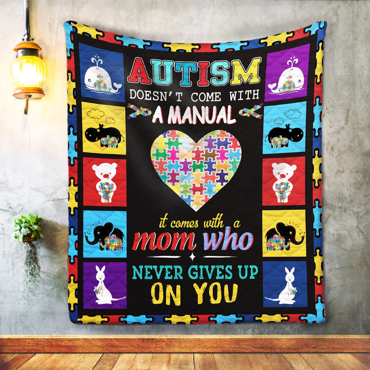 Quilt Autism Doesnt Come With A Manual