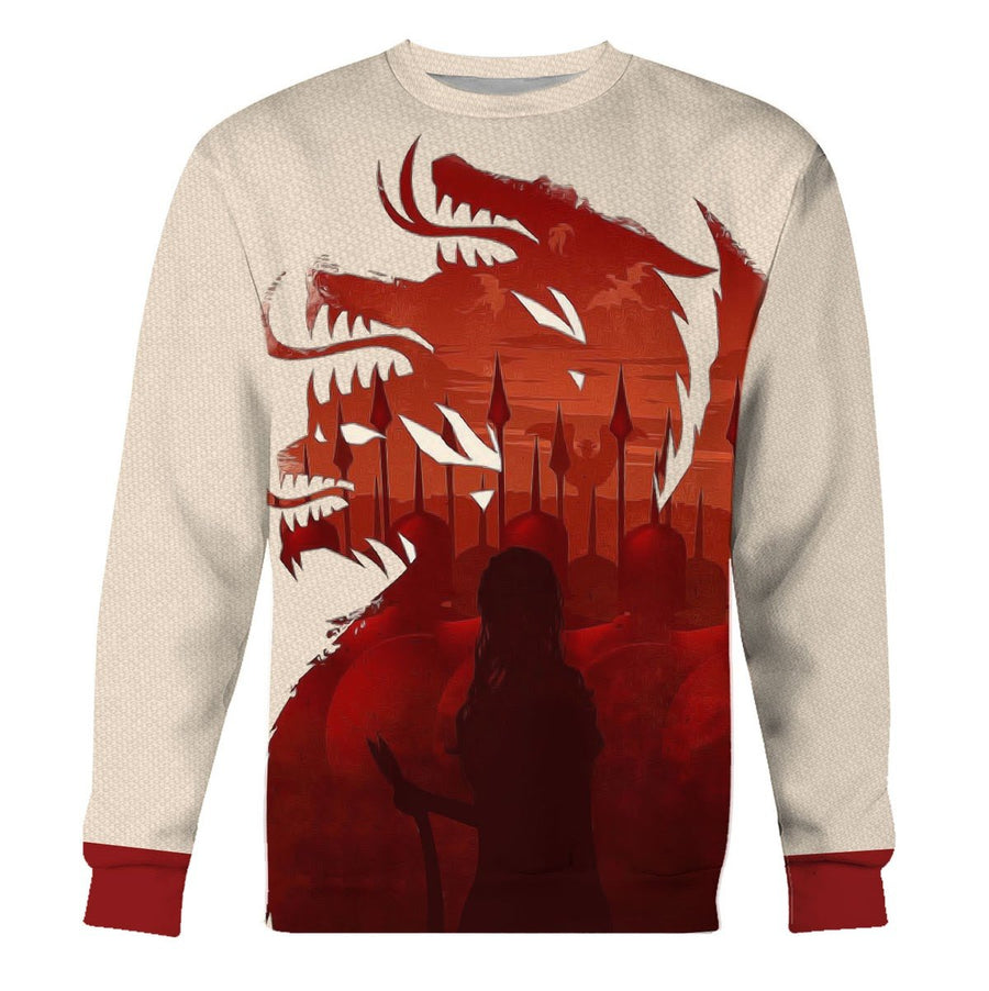 Game Of Thrones Long Sleeves / S G67