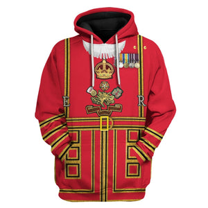 Beefeaters Tower Of London Hoodie / S Hp366