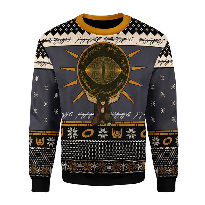 The Lord Of The Rings Burden Ugly Christmas Sweater / S Qm1716