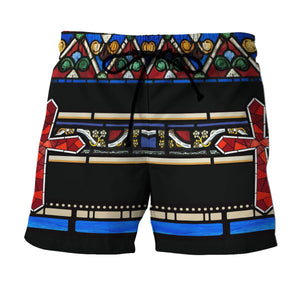 Jesus Name Above All Beach Short / S Qm817