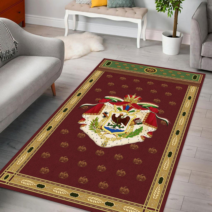 First Mexico Coat Of Arms Rug / Small (3 X 5 Feet - 35 59 Inches) Qm1165