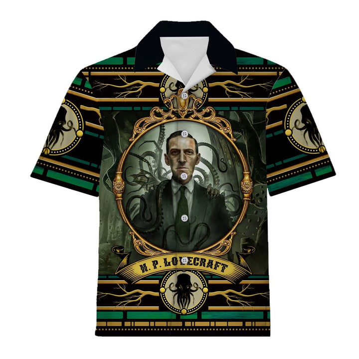 H. P. Lovecraft Hawaiian Shirt / S Qm1296