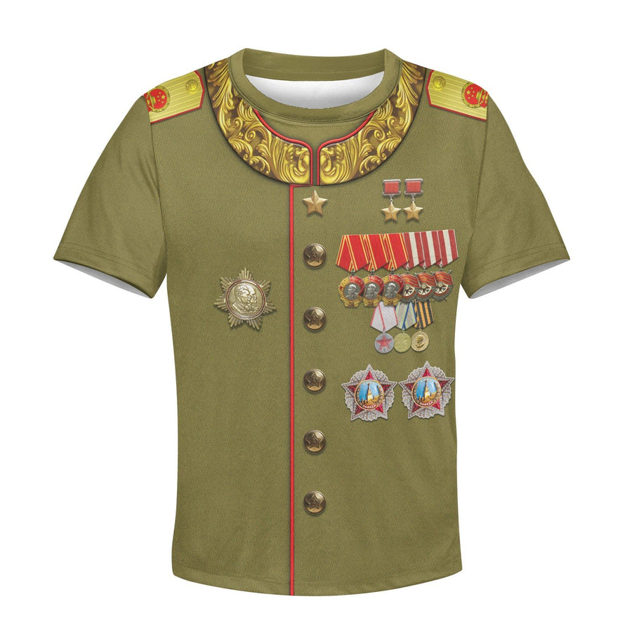Kqm605 Joseph Stalin Russia Kid T-Shirt / Toddler 2T