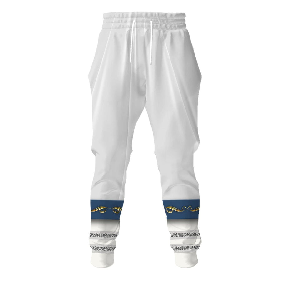 White Liturgical Vestments Sweatpants / S Vn344