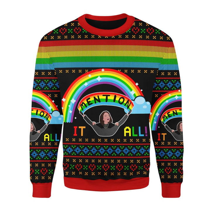 All I Want For Chirsmas Ugly Christmas Sweater Chrristmas / S Qm1777