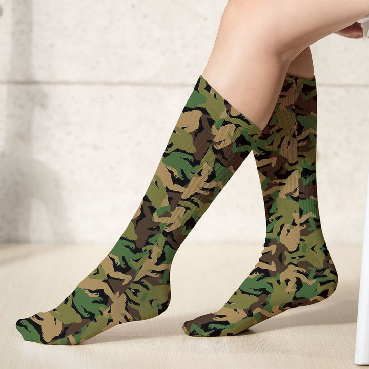 Bigfoot Camo Socks (18X3.5 Icnhes) / Pack 1 G868