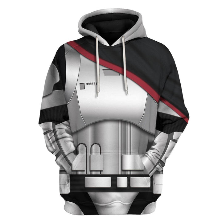 3D All Over Print Hp124 Hoodie / S