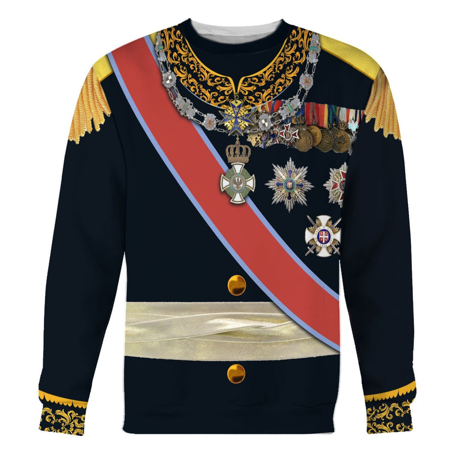 Carol I Of Romania Long Sleeves / S Qm877