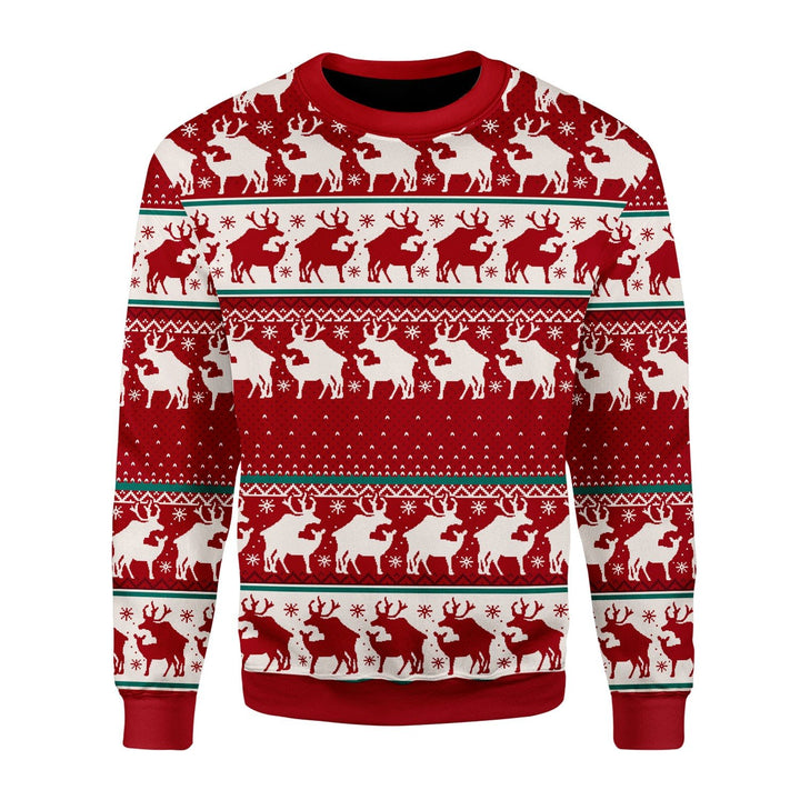 Reindeer Ugly Sweater / S Qm1651